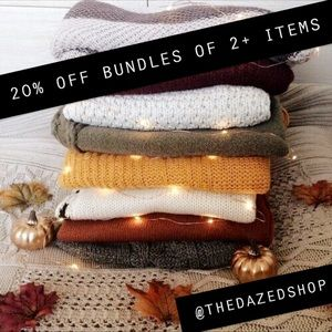 20 % OFF 2+ ITEMS •
